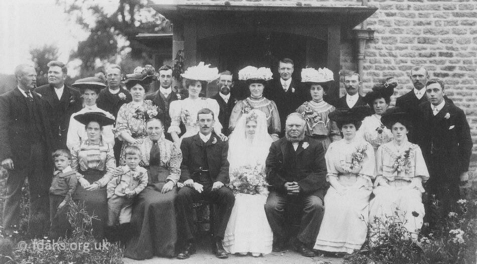 Shellingford Wedding Group 1907