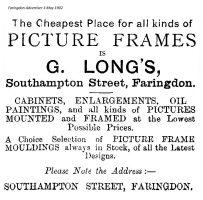 Southampton St Long Advert 1902