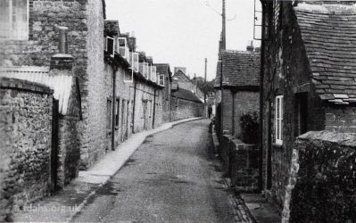 Southampton Street Cottages 1953