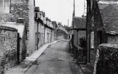 Southampton Street Cottages 1953