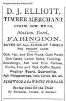 Station Rd Elliott Advert 1902