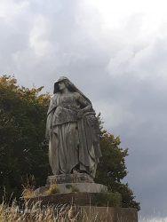 Statue Radcot Road 2020