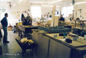 Swan Lane Carpenters Shop 2002