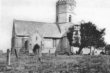 Uffington Church 1880s