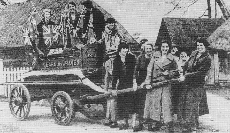 Uffington Coronation 1937