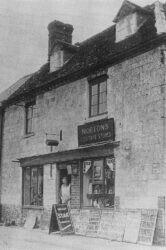 Uffington General Store 1939
