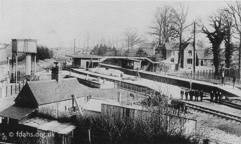 Uffington Station C1897