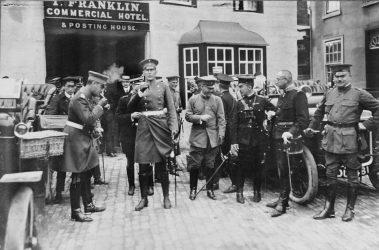 Ww1 Meeting Faringdon 1911