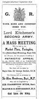 Ww1 Recruitment 1914